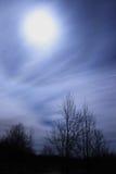 Scena di luce della luna Fotografia Stock