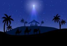 Scena di Natale Immagine Stock