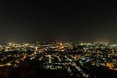 Scena di notte della città di Phuket, Tailandia Fotografia Stock Libera da Diritti