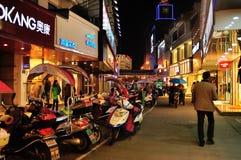 Scena di notte di Laojie Fotografia Stock
