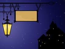 Scena di notte di vettore Royalty Illustrazione gratis