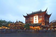 Scena di notte di Yuyuan immagini stock libere da diritti