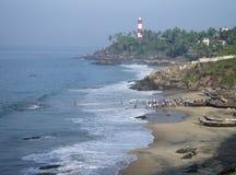 Scena di pesca del Kerala fotografie stock