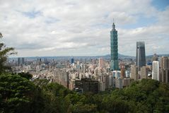 Scena di Taipei Immagini Stock