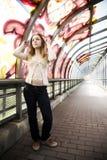 Scena di Tunel Fotografie Stock
