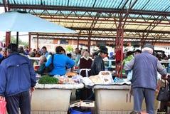 Scena di verdure Romania del mercato di prodotti Fotografia Stock