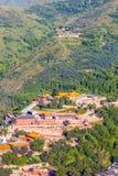 Scena di Wutaishan (supporto Wutai). Immagine Stock Libera da Diritti