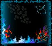 Podwodna scena Zdjęcie Royalty Free