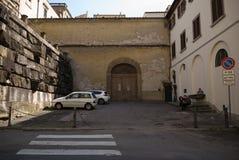 Scena Florence Italy della via immagini stock libere da diritti