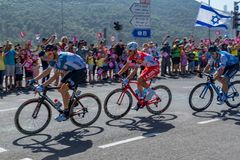 Scena 2 2018 Giro d Italia Fotografia Stock