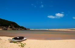 Scena Groot Brak della spiaggia Fotografia Stock