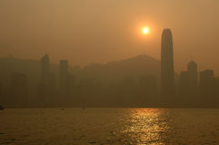 Scena - Hong Kong Fotografia Stock