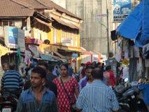Scena indiana della via Fotografia Stock Libera da Diritti