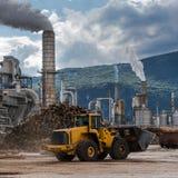 Scena industriale Fotografia Stock