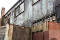 Scena industriale Fotografia Stock Libera da Diritti