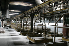 Scena industriale della fabbrica Immagine Stock Libera da Diritti