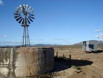 Scena isolata del deserto Fotografia Stock Libera da Diritti