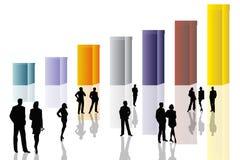 scena konceptualna jednostek gospodarczych ilustracja wektor