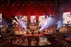 scena koncertowa obrazy stock