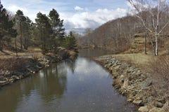 Scena lenta 3103 del fiume immagine stock libera da diritti