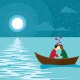 Scena miłosna royalty ilustracja