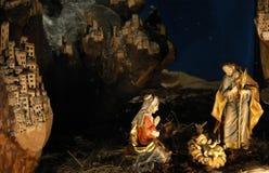 scena narodzenie jezusa Zdjęcie Stock