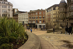 Scena nel centro urbano di Birmingham Immagine Stock