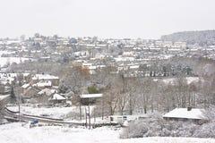 scena śnieg Zdjęcia Stock