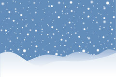 scena śniegu Obraz Stock