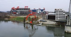 Scena nissan stadium w Nashville, Tennessee 4K zdjęcie wideo