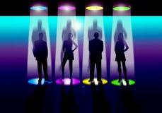 scena oświetleniowa Obrazy Stock
