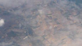 Scena osservata dall'aereo archivi video