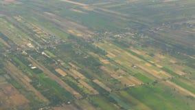 Scena osservata dall'aereo stock footage