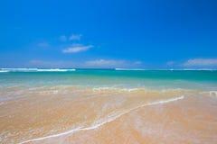 Scena pacifica della spiaggia fotografie stock libere da diritti