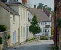 Scena pittoresca della via Proprietà comunali, Sussex Regno Unito immagine stock libera da diritti