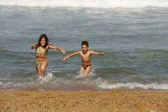 scena plażowa zdjęcie stock