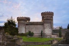 Scena rocca tivoli Lazio Italy zdjęcie stock