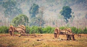 Scena rurale del Myanmar Fotografie Stock