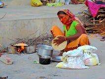 Scena rurale dell'India fotografia stock