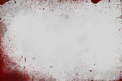 Scena sanguinosa della parete Fotografie Stock Libere da Diritti