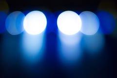Scena, sceny światło z barwionymi światłami reflektorów obraz stock