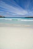 Scena semplice della spiaggia Fotografia Stock Libera da Diritti