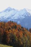 Scena Svizzera di autunno Fotografie Stock Libere da Diritti