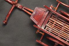 Scena tailandese del carretto Fotografia Stock