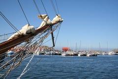 Scena tipica del litorale in Svezia Fotografie Stock Libere da Diritti