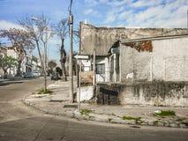 Scena trascurata della vicinanza, Montevideo, Uruguay fotografia stock