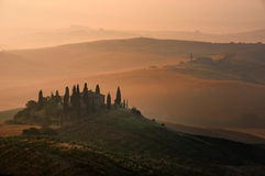 scena Tuscan Fotografia Royalty Free