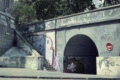 Scena urbana Immagini Stock