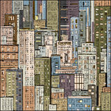 Scena urbana cityscape Immagine Stock Libera da Diritti