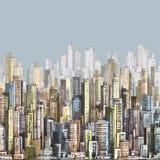 Scena urbana cityscape Fotografie Stock